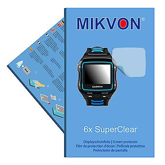 Garmin Forerunner 920XT screen protector- Mikvon films SuperClear (intentionally smaller than the display due to its curved surface)