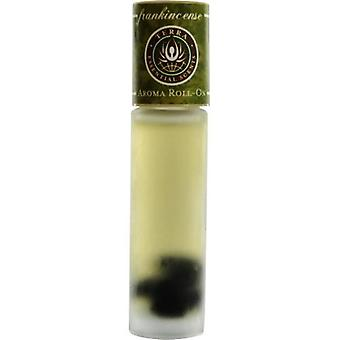 Terra Essential Scents By Terra Essential Scents Frankincense Aroma Roll On - Essential Oils & Resin Of Frankincense With Obsidian Gemstones In Jojoba Oil  .33 Oz
