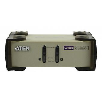 2-Port KVM Switch Silber in Athen
