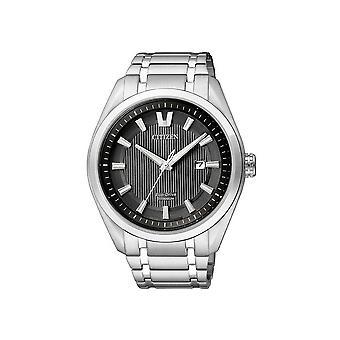Citizen's eco-drive mens watch Super titanium AW1240-57E