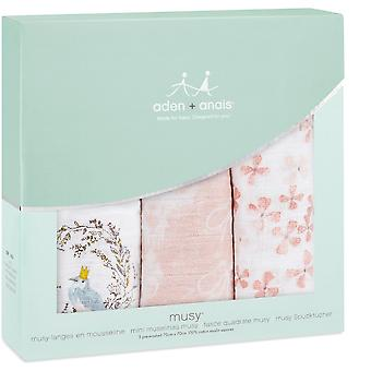 Aden + Anais Classic Musy 3 Pack Birdsong