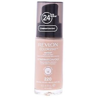 Revlon Colorstay Combination/Oily Skin #220-Natural Beige 30 ml (Make-up , Face , Bases)