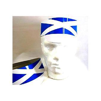 Schottland Fahne Karton Hut