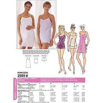 Chemise, Camisole & Shorts-XS-S-M-L-XL -*SEWING PATTERN*