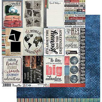 Go See Do Double-Sided Cardstock 12