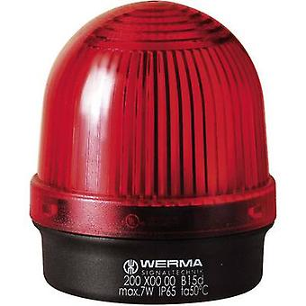 Light Werma Signaltechnik 200.100.00 Red