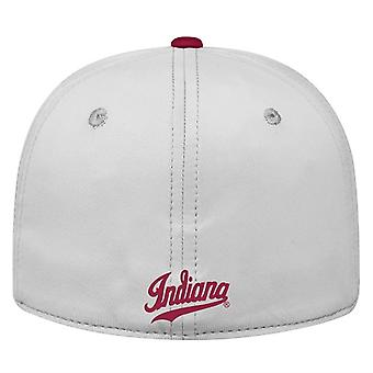 Indiana Hoosiers NCAA TOW Impact Gray Stretch Fitted Hat