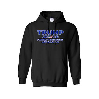 Unisex Trump Finally Someone With Balls Pullover Hoodie
