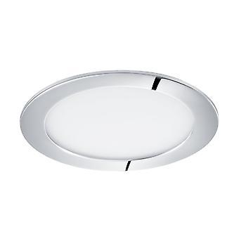 EGLO LED infällda Spotlight 170 Chrome 3000K, Fueva 1
