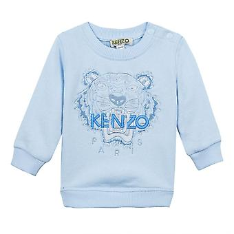Kenzo Infants Embroidered Tiger BB Per 1 T-Shirt (Blue)