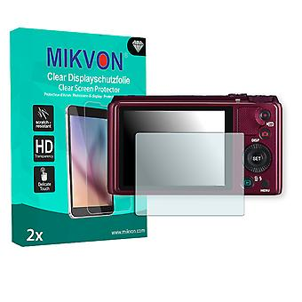 Casio Exilim EX-ZR810 Screen Protector - Mikvon Clear (Retail Package with accessories)