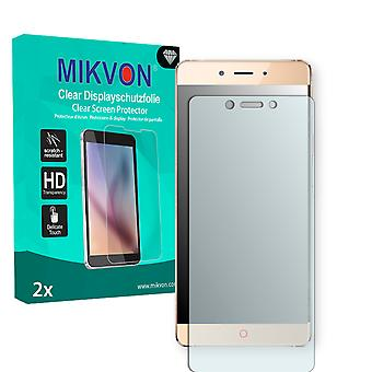 ZTE Nubia Z11 Screen Protector - Mikvon Clear (Retail Package with accessories) (intentionally smaller than the display due to its curved surface)