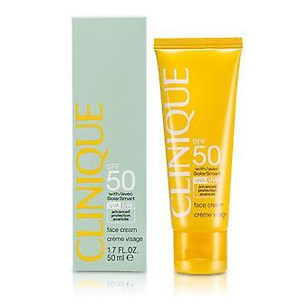 Clinique Sun SPF 50 Face Cream UVA/UVB - 50ml/1.7oz