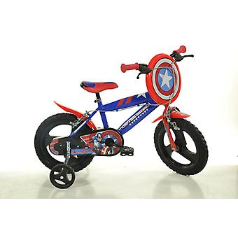 Captain America Child bicycle 16 inch diameter