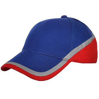 Blue Unisex Adults Casual Buckle Fastening Baseball Hat Cap - One Size Fits All