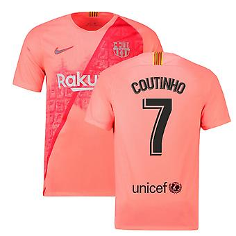 2018-2019 Barcelona Third Nike Football Shirt (Coutinho 7)