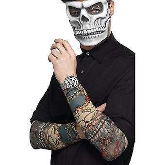Smiffy's Day Of The Dead Tattoo Sleeve