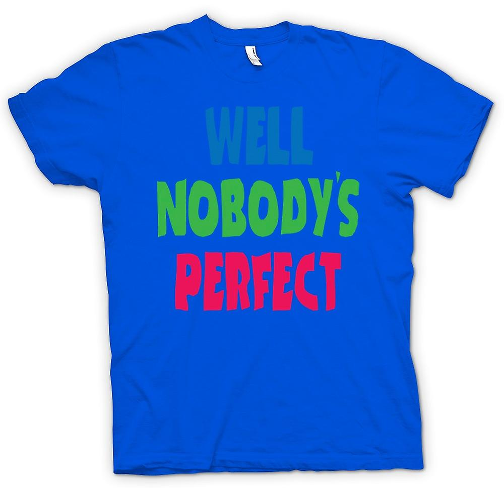 Herren T-Shirt - Nun Nobodys Perect - Some Like It Hot