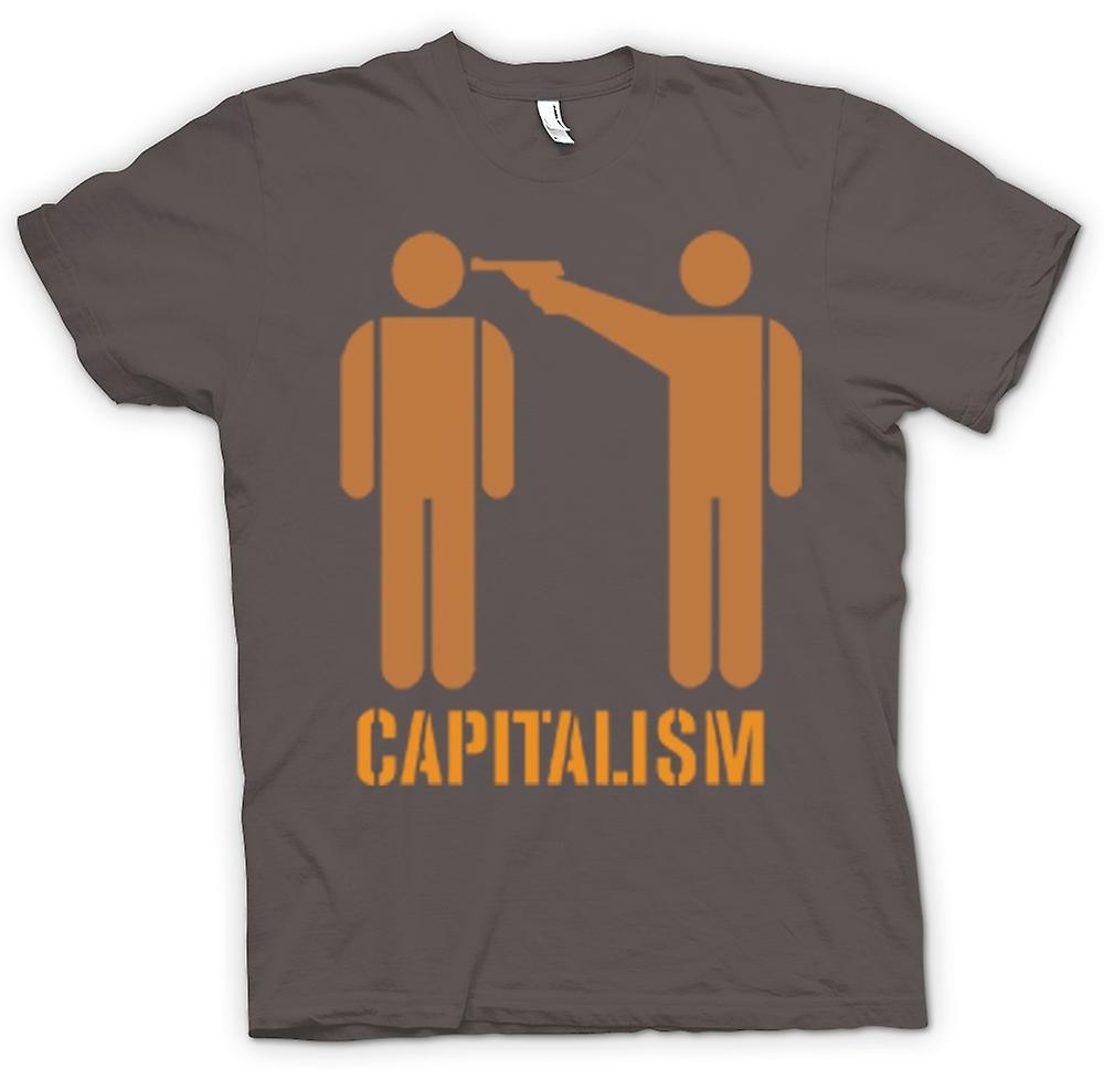 T-shirt Femmes - Capitalisme Will Kill You - Anti capitalisme