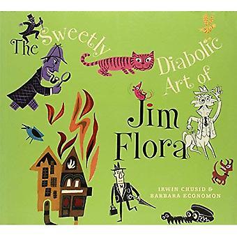 Art doucement diabolique de Jim Flora, la