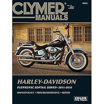 Harley Davidson Softail Clymer Manual: 2011-2016 (Clymer Manuals)