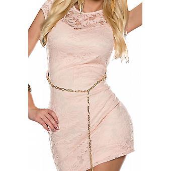 Waooh - blonder kort kjole med foer Otto