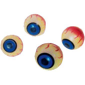 Oeil de boules dans un sac en filet