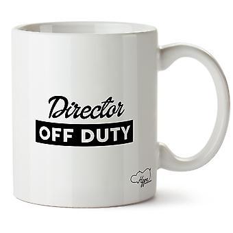 Hippowarehouse Director Off Duty Printed Mug Cup Ceramic 10oz