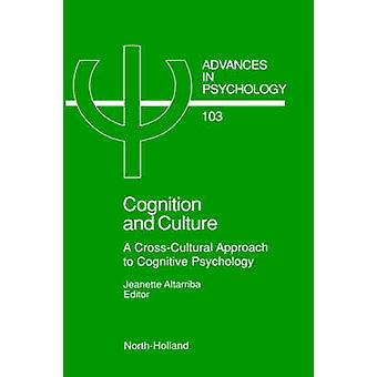 Cognition And Culture by J. Altarriba