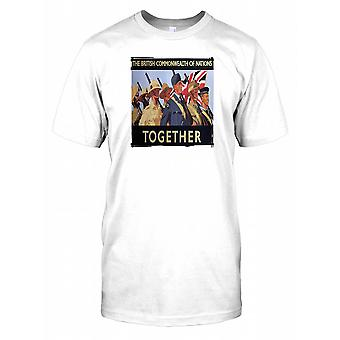 The British Commonwealth of Nations Together Mens T Shirt