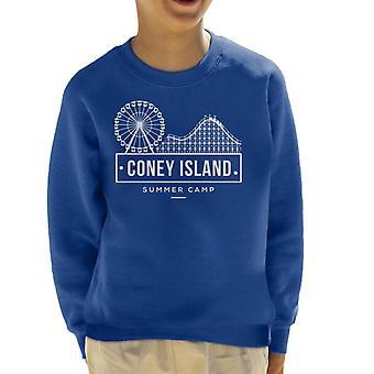 Coney Island Summer Camp Kid's Sweatshirt