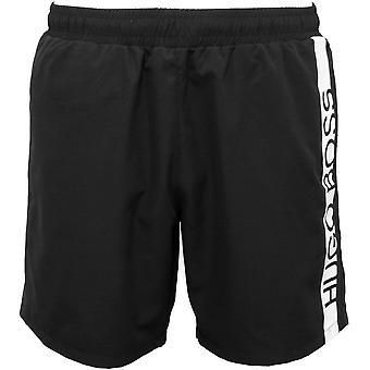 Boss Dolphin logotyp simma Shorts, svart