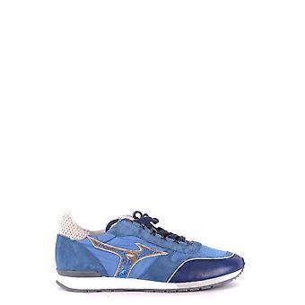 Mizuno Light Blue Suede Sneakers