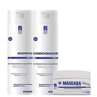 Ony Liss Blonde Home Hair Care Set - Shampoo, Conditioner and Hair Mask (2 x