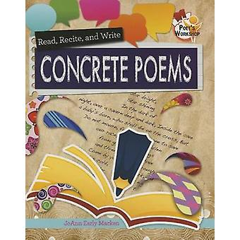 Concrete Poems by JoAnn Early Macken - 9780778719670 Book
