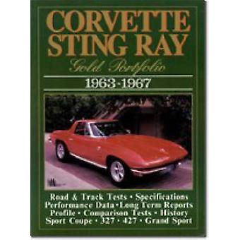 Corvette Sting Ray Gold Portfolio - 1963-67 by R. M. Clarke - 9781855