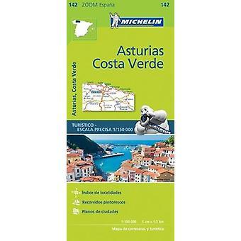 Asturias - Costa Verde Zoom Map 142 - 9782067218048 Book