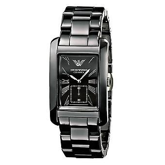 Emporio Armani Ar1406 Men's Gents Ceramica Black Dial Black Watch