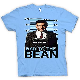 レディース t シャツ - 氏 Bean 悪い豆マグカップ ショット - コメディ