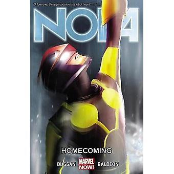 Nova Volume 6 Homecoming by Gerry Duggan & By artist David Baldeon