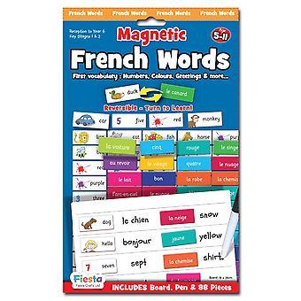 Fiesta Crafts Ltd magnéticas palabras francesas