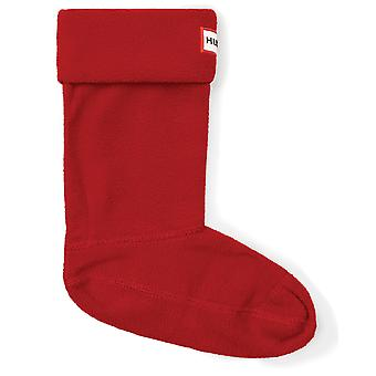 Hunter Kids Wellington Boot Socks - Military Red