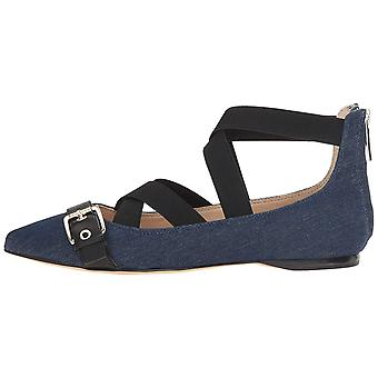 Nine West Women's Smoak Denim Ballet Flat