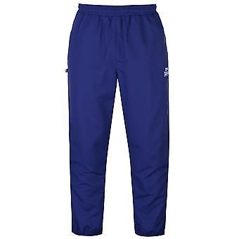 Lonsdale Mens Cuffed Hem Woven Trousers Bottoms Pants