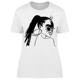 Perfect Brush Accident Tee Women's -Image by Shutterstock