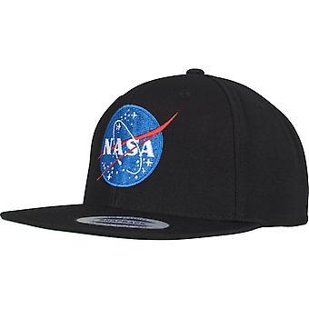 Mister Tea Snapback Cap - NASA Black