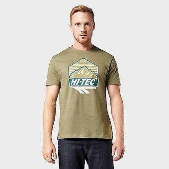 New Hi Tec Men's Beltor Short Sleeved T-Shirt Khaki