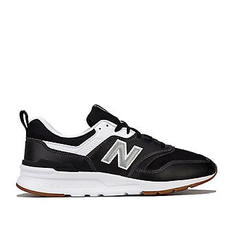 Mens New Balance Cm997 Trainers In Black- A Bold, Reimagined Lifestyle Shoe