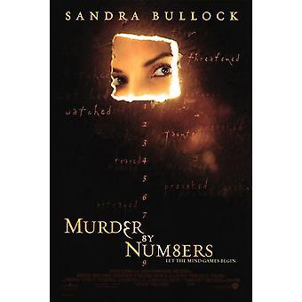 Mord nach Zahlen (doppelseitig) Original Kino Poster