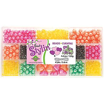 Bead Stylin' Bead Box Kit 4.4 Ounces Pkg Citrus B6459